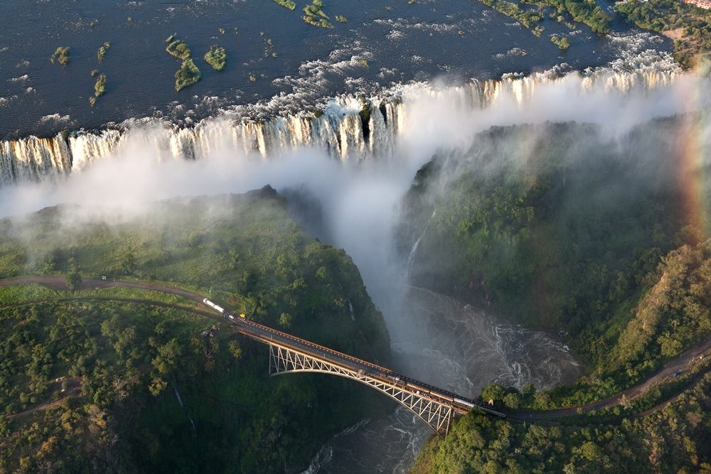 Bungee Jump At Victoria Falls