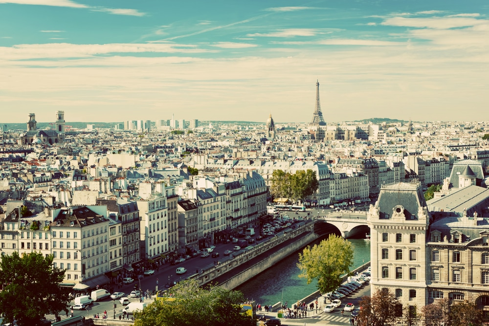 The City Of Paris, France