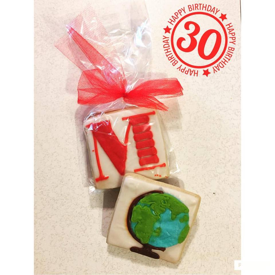 MTI Events Personalized Cookies from Swoon Cookie Crafters