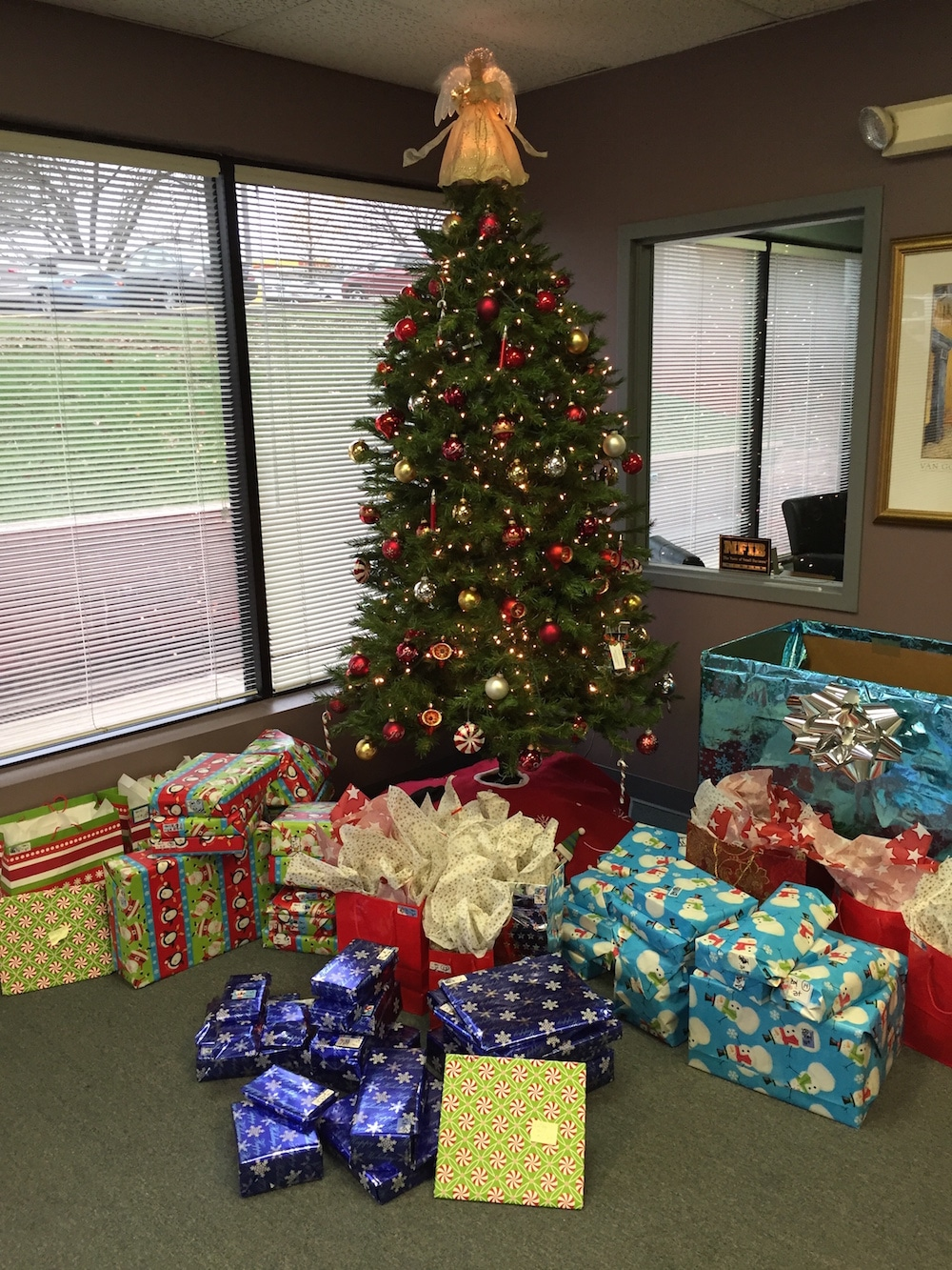 MTI Events Holiday Toy Drive Sherwood Center
