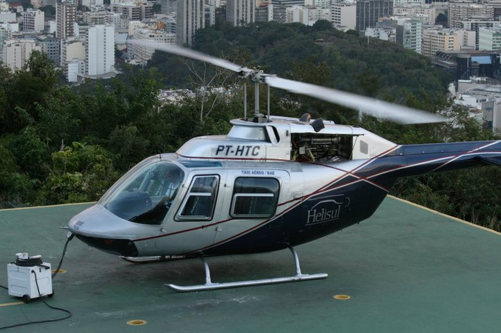 Copacabana beach helicopter - mti events