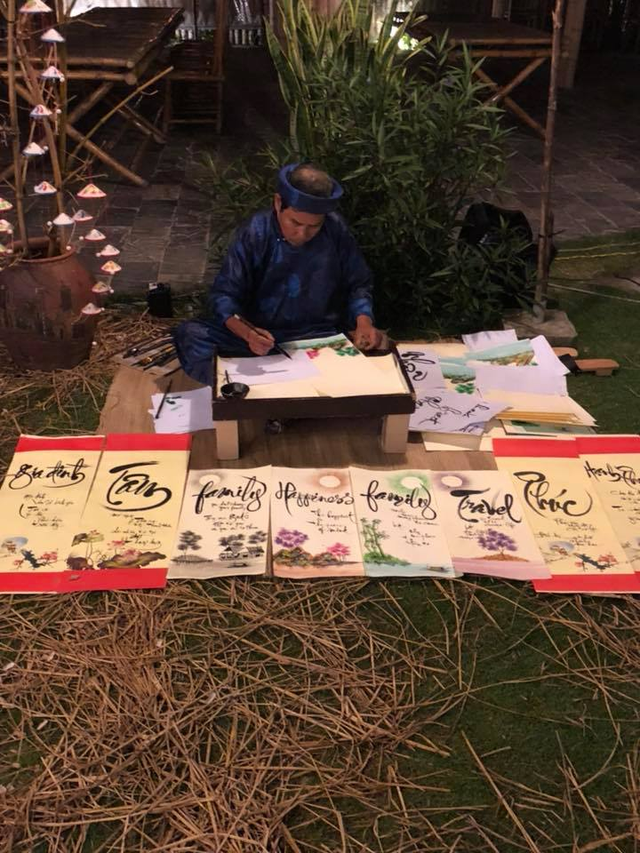 Vietman guy painting - mti events