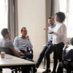 Boss-leading-employees